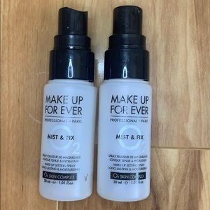 Makeuo forever mist and fix setting spray x 2 used